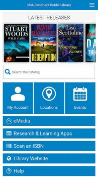Mobile Apps | Mid Continent Public Library